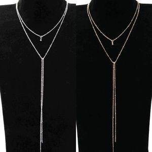 Layered Knot Design Necklace With Choker
